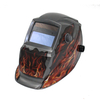 MX-9 Auto Darkening Welding Helmet with flame